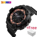 Harga Skmei Pria Dual Display Arloji Jam Tangan Es Outdoor Quartz Sports Watch Jam Tangan Es Fashion Casual Multifungsi 50 M Tahan Air Watch Jam Tangan Boy 1189 Fullset Murah