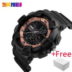 Penawaran Istimewa Skmei Pria Dual Display Arloji Jam Tangan Es Outdoor Quartz Sports Watch Jam Tangan Es Fashion Casual Multifungsi 50 M Tahan Air Watch Jam Tangan Boy 1189 Terbaru