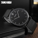 Beli Skmei Men Luxury Quartz Watch Jam Tangan Es Fashion Casual Ultra Thin Brand Wristwatch Jam Tangan Es 30M Waterproof Meal Watch Jam Tangan Feminino 1181 Intl Skmei Asli