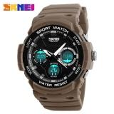 Beli Skmei Pria Olahraga Luar Ruangan Watches Chronograph Militer Watch 50 M Tahan Air Digital Dual Display Pria Jam Tangan 1247 Skmei Online