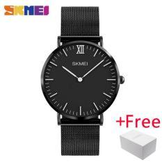 Promo Toko Skmei Pria Quartz Watches Fashion Business Luxury Brand Ultra Tipis Jam Tangan 30 M Tahan Air Pria Blaus Masculino 1181