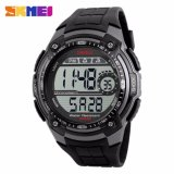 Jual Skmei Men Sport Led Watch Dg1203 Water Resistant Anti Air Wr 50M Jam Tangan Pria Tali Strap Rubber Karet Wrist Watch Wristwatch Fashion Casual Design Hitan Abu Skmei Original
