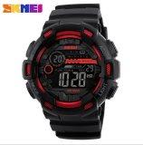 Diskon Skmei Pria Sport Watch Outdoor Pria Tahan Air Elektronik Watch 1243 Merah Internasional Branded