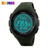 Toko Pria Olahraga Kompas Countdown Watches 50 M Tahan Air Alarm Jam Digital 1232 Intl Skmei Tiongkok