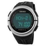 Toko Skmei Pedometer Hitam Jam Tangan Pria Strap Silikon 1058 Sport Black Free Box Jam Tangan Flash Lengkap Di Jawa Tengah