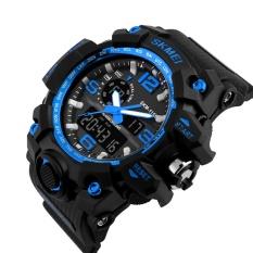 SKMEI  Merek Besar Watch Shock Olahraga Outdoor Watches Pria Digital LED 50 M Waterproof Alarm Chrono Jam Tangan 1155-Intl