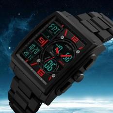 Harga Skmei Merek Digital Kuarsa Pria Jam Tangan Kolam Olahraga Multifungsi Led Digital Chronograph 50 M Tahan Air Watches 1274 Intl Original