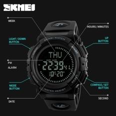 Rp 151200 SKMEI Merek Pria Kompas Penghitung Waktu Multifungsi Olahraga Jam Tangan