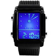 SKMEI Merek Watch 0814 LED Watch Pria Waterproof Automatic Arloji Olahraga Mewah Datejust Kualitas Terbaik Fashion