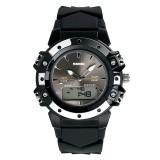 Beli Skmei Merek Watch 0821 Olahraga Dual Waktu Tinggi Kualitas Kuarsa Digital Jam Tangan A Very Good 5Atm Air Tahan Analog Digital Unisex Watch Intl Secara Angsuran