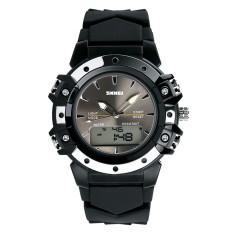 Tips Beli Skmei Merek Watch 0821 Olahraga Dual Waktu Tinggi Kualitas Kuarsa Digital Jam Tangan A Very Good 5Atm Air Tahan Analog Digital Unisex Watch Intl Yang Bagus