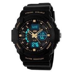 Jual Merek Watch 0955 Relogio Masculino Laki Laki Olahraga Selai Digital Led Jelly Militer Selai Pria Jam Tangan 50M Tahan Air Siswa Menonton Branded