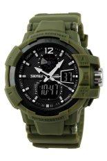 Review Merek Watch 1040 Baru Outdoor Pria Olahraga Watches Dipimpin Digital Quartz Multifungsi Watch Militer Tahan Terhadap Udara Dress Jam Tangan Tiongkok