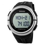 Promo Merek Watch 1058 Mens Watches Top Brand Luxury Pedometer Heart Rate Monitor Kalori Counter Digital Watch Pria Sport Jam Tangan Untuk Pria Wanita Bounabay Terbaru