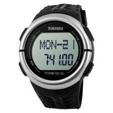 Review Merek Watch 1058 Mens Watches Top Brand Luxury Pedometer Heart Rate Monitor Kalori Counter Digital Watch Pria Sport Jam Tangan Untuk Pria Wanita