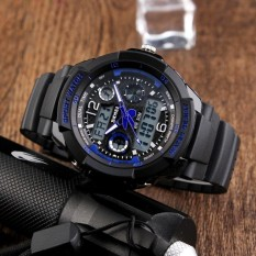 Spesifikasi Skmei Merek Watch 1060 Anak Olahraga Watches 50 M Tahan Air Fashion Kasual Quartz Digital Watch Boys Gadis Dipimpin Jam Tangan Multifungsi Terbaru
