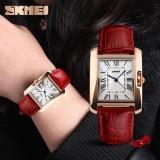 Ulasan Lengkap Tentang Skmei Merek Watch 1085 Watch Wanita Elegan Retro Watches Fashion Kasual Quartz Watches Jam Tangan Jam Kulit Kasual Perempuan Wanita S