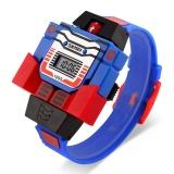 Diskon Skmei Merek Watch 1095 Children Led Fashion Digital Anak Menonton Kartun Olahraga Watches Robot Transformasi Mainan Baru Pria Jam Tangan Relogio Relojes Intl Skmei Di Tiongkok
