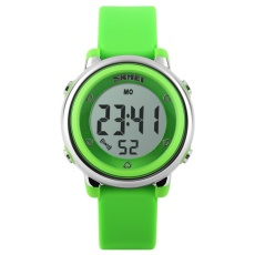 SKMEI Merek Watch 1100 Anak LED Digital Watch Relogio Feminino Olahraga Jam Tangan Children Kartun Jelly