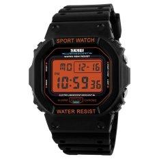 Beli Skmei Merek Watch 1134 People Olahraga Mode Santai Led Digital Jam Tangan Tahan Terhadap Udara Militer Bounabay Online