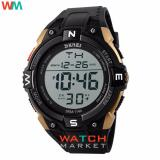 Review Skmei Merek Watch 1140 Pria Olahraga Outdoor Led Digital Multifungsi Fashion Besar Dial Hitam Jam Tangan Indonesia