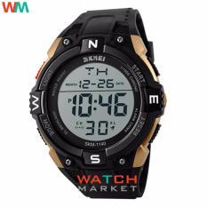 Harga Skmei Merek Watch 1140 Pria Olahraga Outdoor Led Digital Multifungsi Fashion Besar Dial Hitam Jam Tangan Original