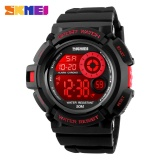 Jual Merek Watch 1222 Pria Kedatangan Olahraga Watches Mode Santai 7 Warna Led Black Light Watch Shock Tahan Digital Jam Tangan Manusia Baru Ori