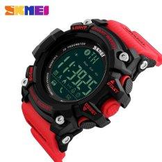 Toko Skmei Merek Watch 1227 Pedometer Kalori Counter Fashion Digital Watch Chronograph Led Display Watch Kolam Olahraga Jam Tangan Tiongkok