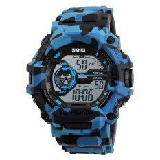 Cuci Gudang Skmei Merek Watch 1233 Tahan Air Digital Watch Pria Militer Olahraga Watches Mode Santai Gaya Led Mens Berpakaian Jam Tangan