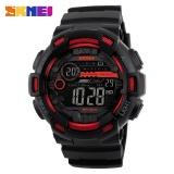 Jual Skmei Merek Watch 1243 Pria Digital Watch Countdown Chronograph Jam Tangan Double Time Alarm Olahraga Jam Tangan 50 M Tahan Air Relogio Masculino Intl Branded Murah
