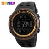 Skmei Merek Watch 1250 Pria Watch Chrono Kalori Pedometer Multi Fungsi Olahraga Watches Pengingat Digital Jam Tangan Relogios Intl Tiongkok