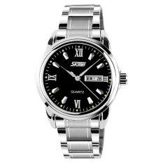 merek Watch 9082 Men's Fashion Waterproof otomatis Stainless Steel mewah Clock Jual obat anti rayap kualitas atas Quartz Watch