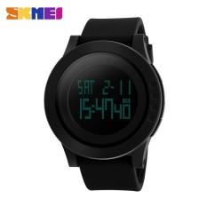 "SKMEI  Merek Watch Anak Militer Olahraga Watches Mode Silikon Tahan Air LED Digital Bandung Photo: ""laki-laki Jam Digital 1142 -Intl"
