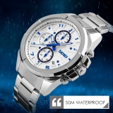 Perbandingan Harga Skmei Merek Watch Analog Quartz Watch Man 5Atm Tahan Air Fashion Casual Sport Watches Pria Baja Penuh Wristwatch9109 Intl Di Tiongkok