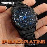 Harga Skmei Merek Watch Analog Quartz Watch Pria 5Atm Tahan Air Fashion Kasual Olahraga Jam Tangan Pria Penuh Steel Wristwatch9109 Intl Dan Spesifikasinya