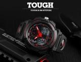 Ulasan Mengenai Skmei Merek Watch Dual Layar Jam Tangan Pria Olahraga Jam Tangan Digital Double Time Chronograph Waktu Menonton Watwrproof Relogio Masculino 1270 Intl