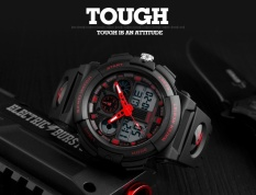 Toko Skmei Merek Watch Dual Layar Jam Tangan Pria Olahraga Jam Tangan Digital Double Time Chronograph Waktu Menonton Watwrproof Relogio Masculino 1270 Intl Lengkap