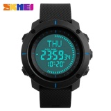 Skmei Merek Watch Kompas Countdown Multifungsi Digital Watch Waterproof Outdoor Sports Pria Alarm Led Jam Tangan 1216 Skmei Tiongkok Diskon