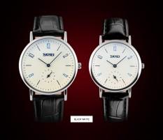 Review Skmei Merek Watch Lover S Watches Fashion Kasual Quartz Watch Mewah Jam Tangan 50 M Tahan Air Relogio Masculino Relojes Mujer9120 Intl Tiongkok