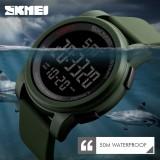 Harga Skmei Merek Watch Mewah Pria Led Digital Watches Chrono Countdown Olahraga Jam Tangan Militer Jam Tangan Relogio Masculino 1257 Intl Termurah
