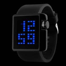 SKMEI Merek Watch Indonesia Ngumpul Di Sini Fashion Kasual LED Digital Watch Pria Menyelam 50 M Silikon Olahraga Jam Tangan Wanita Dress Wristwatches1145 -Intl