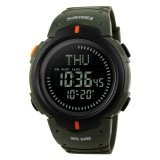 Jual Merek Watch Pria Digital Jam Tangan Outdoor Kompas Olahraga Watch Alarm Countdown Ketepatan Waktu Waterproof Relogio Masculino 1231 Baru
