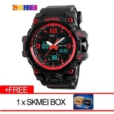 Harga Skmei Merek Watch Pria Mewah Analog Quartz Digital Led Elektronik Jam Tangan 1155B Intl Fullset Murah