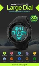 SKMEI Merek Watch Pria Olahraga Outdoor Tahan Air Multifungsi Elektronik Watch Siswa Laki-laki Catatan Swim Pasang 1122- INTL