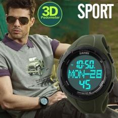 Merek Watch Pria Olahraga Outdoor Tahan Air Multifungsi Elektronik Watch Siswa Laki-laki Catatan Swim Pasang 1122- INTL