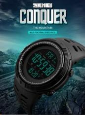 Toko Skmei Merek Watch Pria Olahraga Watches Countdown Double Time Watch Alarm Chrono Digital Jam Tangan 50M Waterproof Relogio Masculino 1251 Intl Online Terpercaya