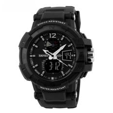 Katalog Skmei Military Men Sport Led Watch Water Resistant 50M Ad1040 Jam Tangan Sport G Shock Hitam Full Skmei Terbaru