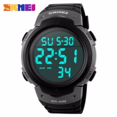 SKMEI Olahraga Baru Watches Pria Shock Resist Militer Militer Watch LED Digital Watch 1068G-Intl