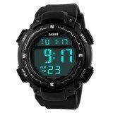 Skmei Pioneer Sport Watch Water Resistant 50M Dg1067 Black Diskon Akhir Tahun