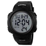 Harga Skmei Pioneer Sport Watch Water Resistant 50M Jam Tangan Sporty Pria Strap Silicon Dg1068 Hitam Kualitas Original Garansi 1 Bulan Fullset Murah